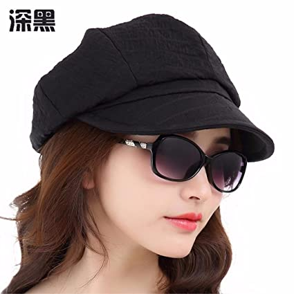 ad9ebff76 Amazon.com: LONFENN Ladies Women Hats Spring Summer Leisure Beret ...