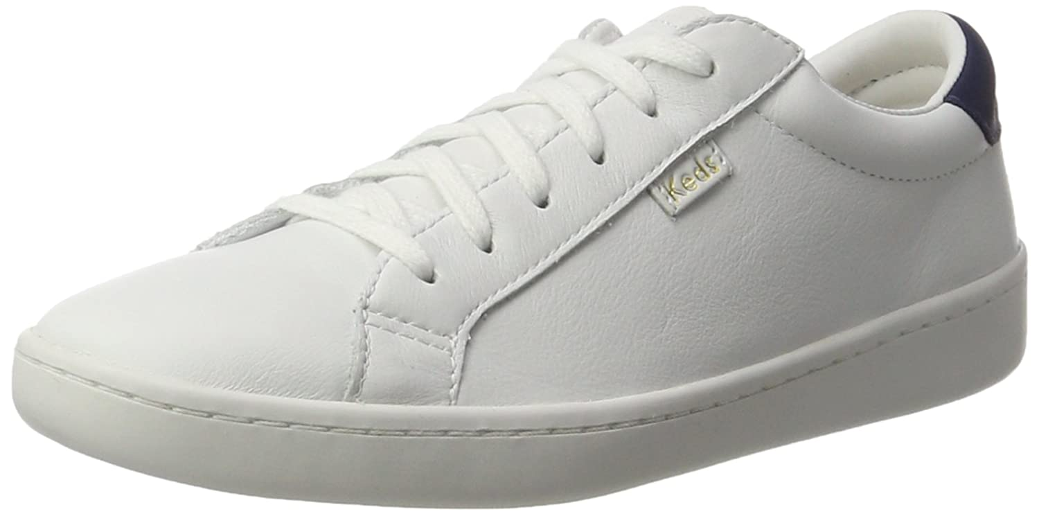 Keds Ace Core Leather - Zapatos Mujer 40 EU|Wei (White/Navy)