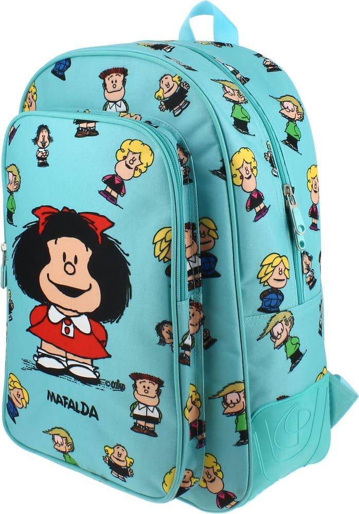 Grafoplás 37500147. Mochila escolar diseño Mafalda Amigos