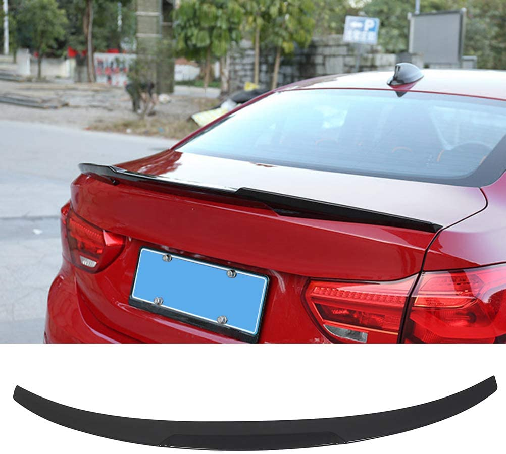 Gloss Black Rear Trunk Spoiler Wing Fits BMW 3 Series F30 F80 V Style 2012-2018