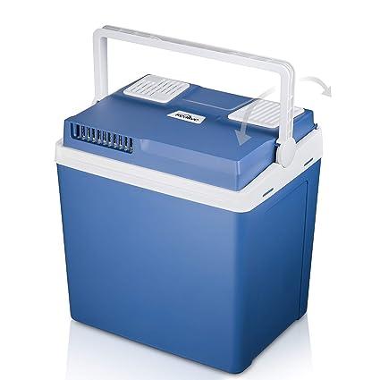 Amazon.es: TIBEK Cool Box refrigerador de Doble Voltaje para Coche ...