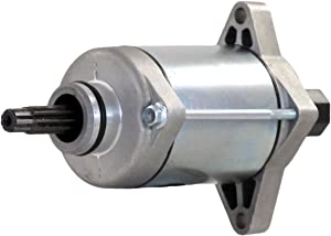Rareelectrical New Starter Motor Compatible With Honda ATV Trx420Fe Fm Fourtrax Rancher 4X4 2007-2009 By Part Numbers 31200-HP5-601 31200HP5-601 SM18 31200HP5601 31200HR0F01