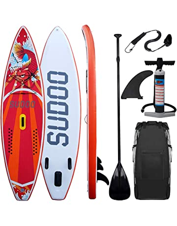 Triclicks Tabla Hinchable Paddle Surf/Sup Paddel Surf dacon Bomba, Mochila, Aleta Central