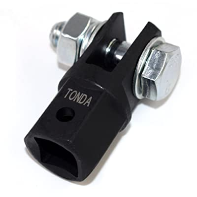 """TONDA 1/2"""" Scissor Jack Adapter for 1/2"""" Drive/Impact Drills/Ratchet or Standard Drive Sockets or 13/16"""" Lug Wrench/Tire Iron or Socket: Automotive"""