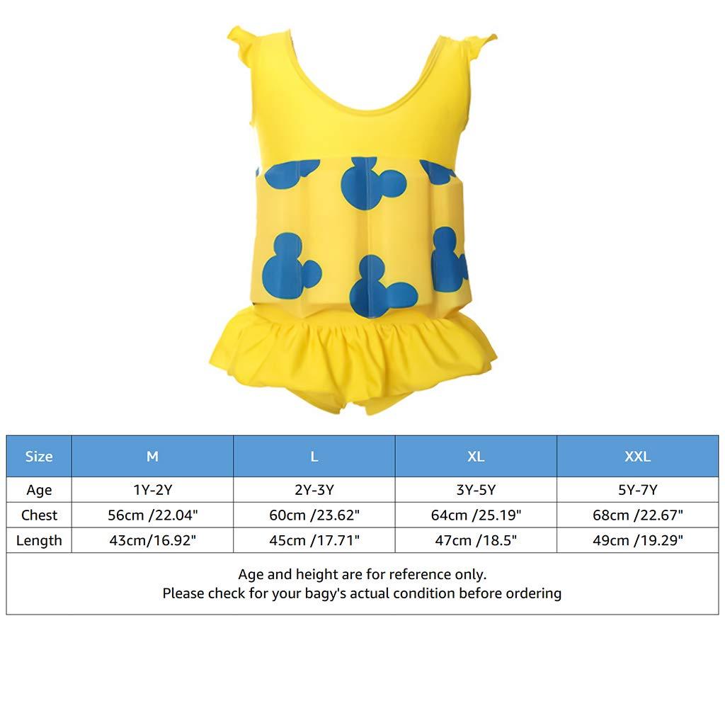 Schweben Badebekleidung Float Anzug f/ür Jungen M/ädchen Learn Swim Schwimmhilfe Badeanzug Kinder Bademode