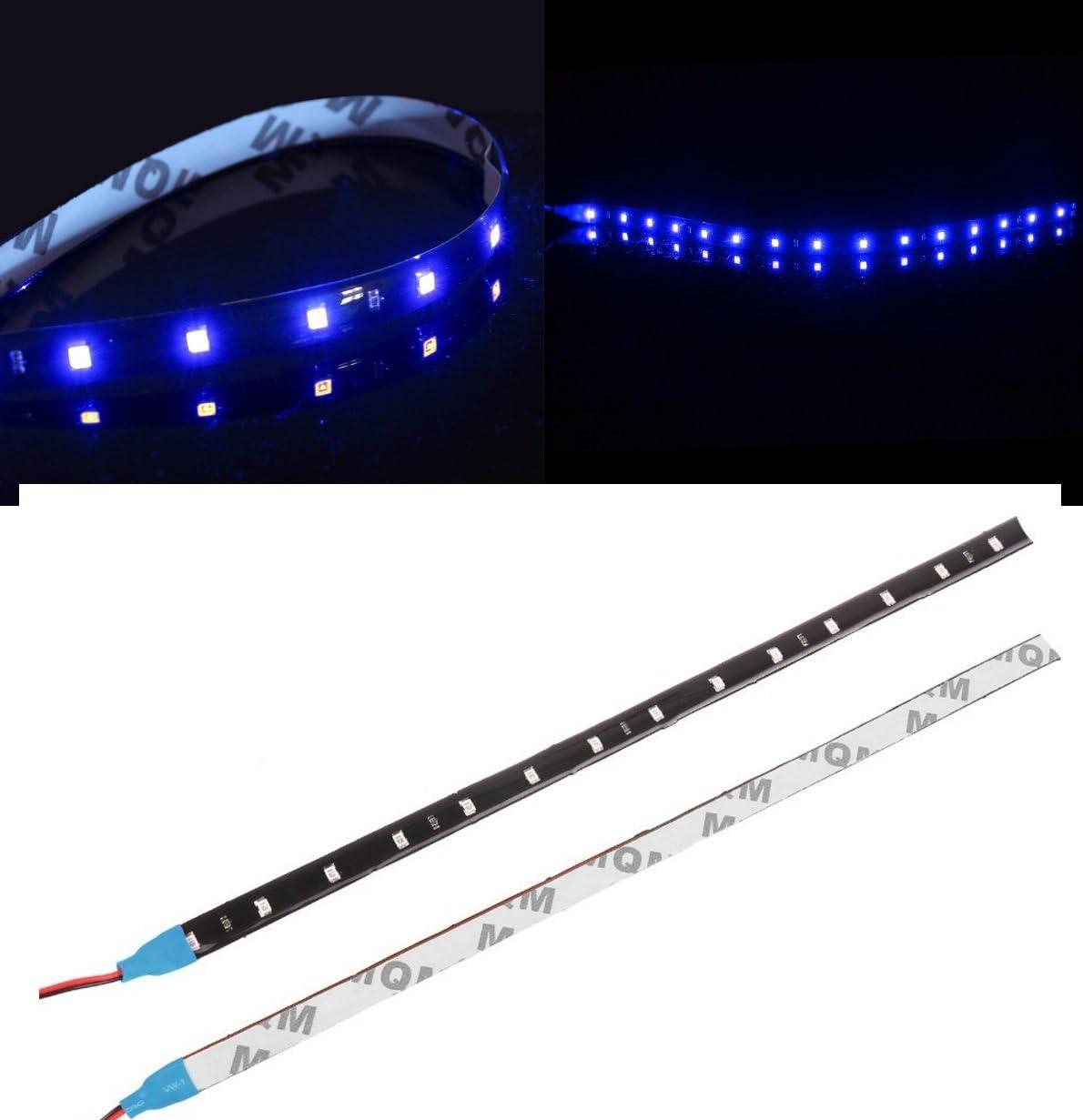 30CM STRISCIA FLESSIBILE STRIP LED SMD 3528 BLU BLUE