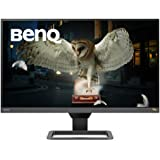 BenQ EW2780Q IPS Entertainment Monitor with HDMI connectivity HDR Eye-Care Integrated Speakers and Custom Audio Modes, Black,
