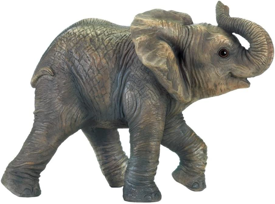 Zings & Thingz 57074089 Elephant Garden Statue, Gray