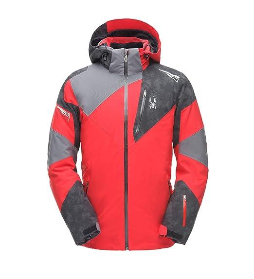 Spyder Men s Leader Gore-TEX Waterproof and Windproof Snow Sport Jacket b5588062d