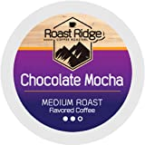 Roast Ridge Single Serve Coffee Pods Compatible with Keurig K-Cup Brewers, Chocolate Mocha 100 Ct.
