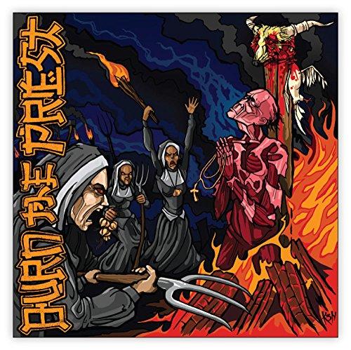 LAMB OF GOD BURN THE PRIEST sticker decal 4