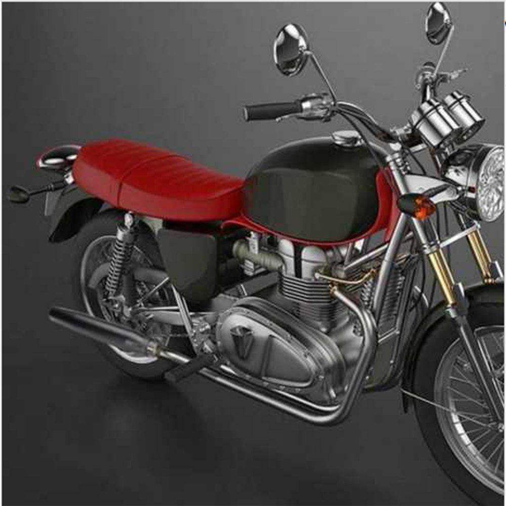 45 mm entrada para motocicleta para Harley Cafe Racer JFG RACING Silenciador de escape 38 mm negro Triumph Custom Bobber Custom