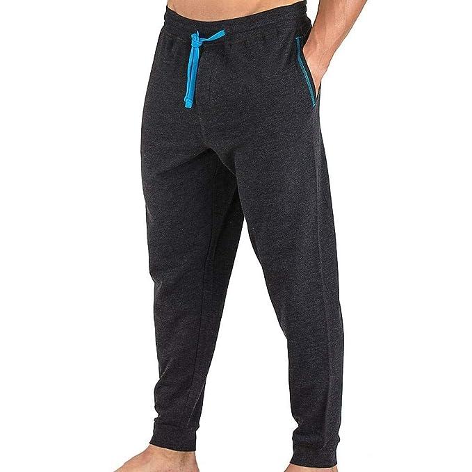Papi - Pantalón de chándal para Hombre (Forro Polar) - Negro ...