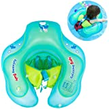 Inflatable Baby Swimming Float Ring, FOONEE Children Waist Adjustable Baby Pool Float Ring Toys, U Shape Underarm Design Double Airbags Swimming Laps Opening Float Lifebuoy For Toddlers 3-36 Months
