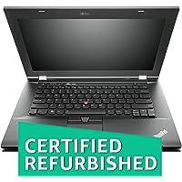 (Certified REFURBISHED) Lenovo ThinkPad L430 14-inch Laptop (3rd Gen Intel Core i5/4GB/320GB/Windows 10/Integrated Graphics), Black