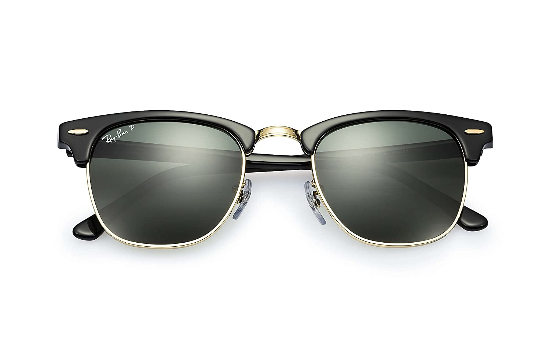 10003665233fbe Amazon.com  Ray-Ban 3016 Clubmaster Sunglasses