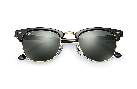 5237a53357 Amazon.com  Ray-Ban 3016 Clubmaster Sunglasses