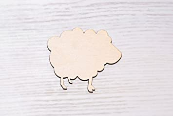 Wooden Flamingo Craft Shapes Decorations Blank 3mm mdf Thick Embellishment