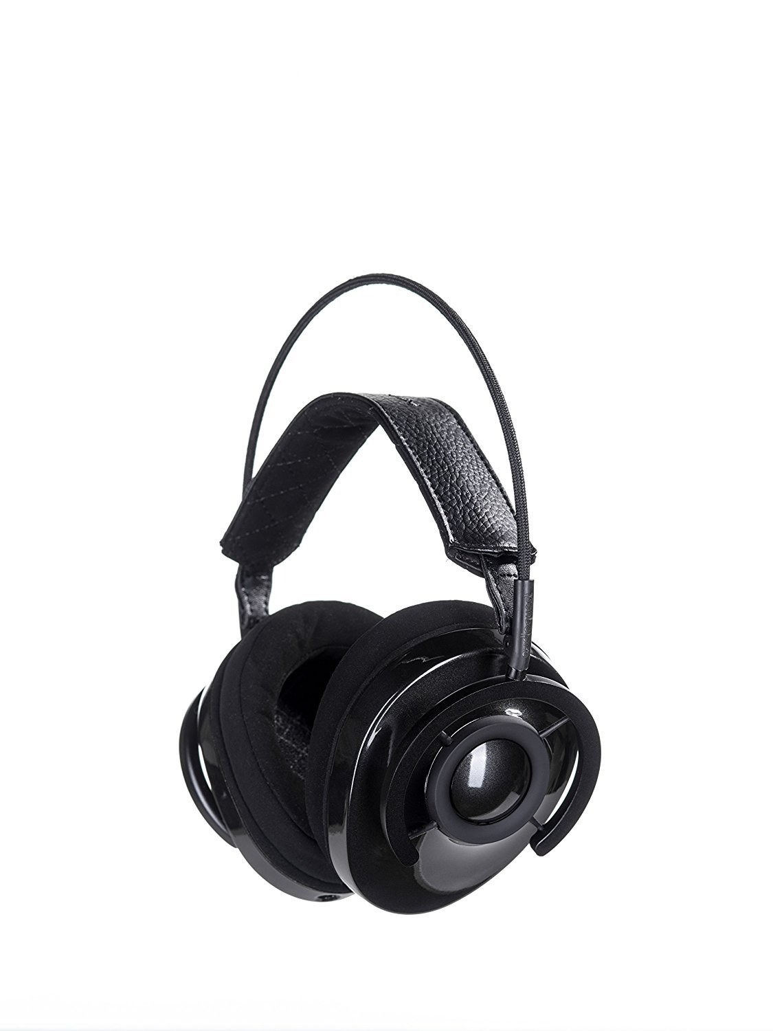 AudioQuest Carbon Around-The-Ear Headphones With Dragontail USB 2.0 Extender For the DragonTail DAC And Custom Designed Instrument Cloth (NOWLHEADCARBON) by AudioQuest (Image #2)