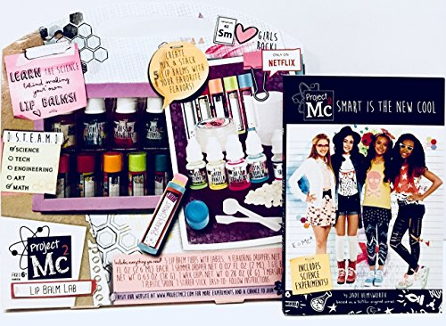 Project Mc2 Create Your Own Lip Balm Lab Kit bundle with Mc2