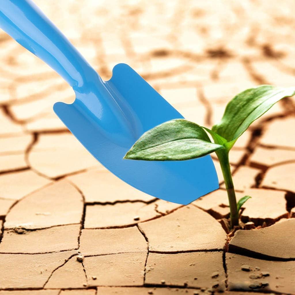Gartenschaufel Ycncixwd Mini-Gartenhandwerkzeug Blumen Erde Spaten aus Metall Pflanzen Gartenschaufel f/ür Kinder gr/ün