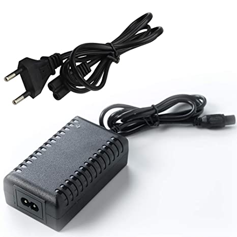 Cargador eléctrico del Adaptador de la Vespa 42V del Coche de la balanza para el Enchufe de la UE de Xiaomi/Segway/Swegway/Hoverboard