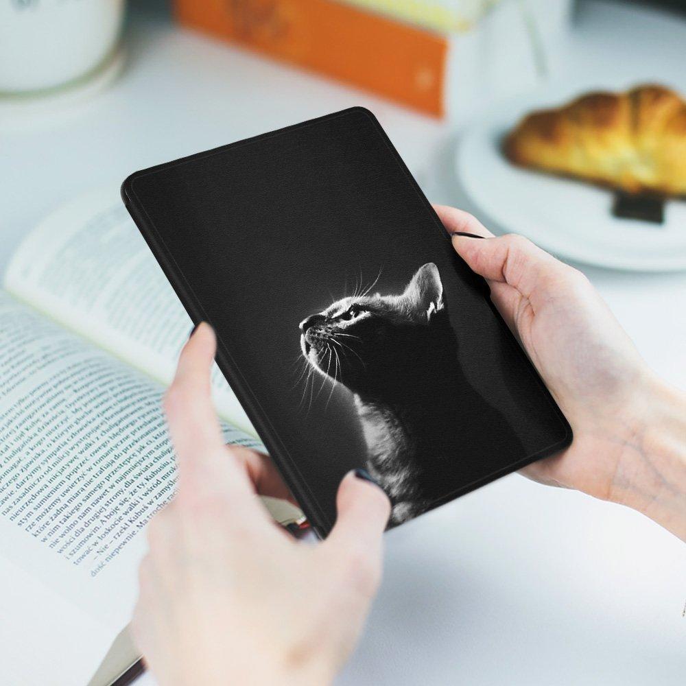 No se Ajusta a la 10/ª generaci/ón de Paperwhite K5-09 The Cat Pattern Ayotu Estuche de Colores para Kindle Paperwhite-Se Adapta a Todas Las Generaciones de Paperwhite anteriores a 2018