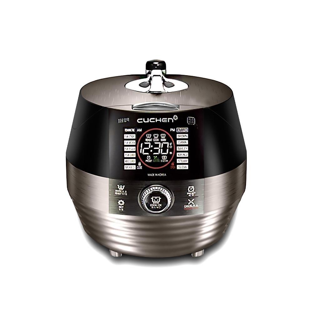 CUCHEN 3D IH Pressure Rice Cooker CJH-PC0610RC 10cup 110V, Black