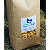 NORTH AMERICAN-RAISED Bugs for Birds! Better Than Mealworms - Dried BSF Larvae - Natural Chicken Feed Supplement / Wild Bird