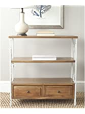 Safavieh American Home Collection Chandra Oak and White Smoke Console Table