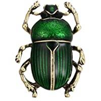 ForU-1 Vintage Beetle Brooches Animal Insects Jewelry Pins