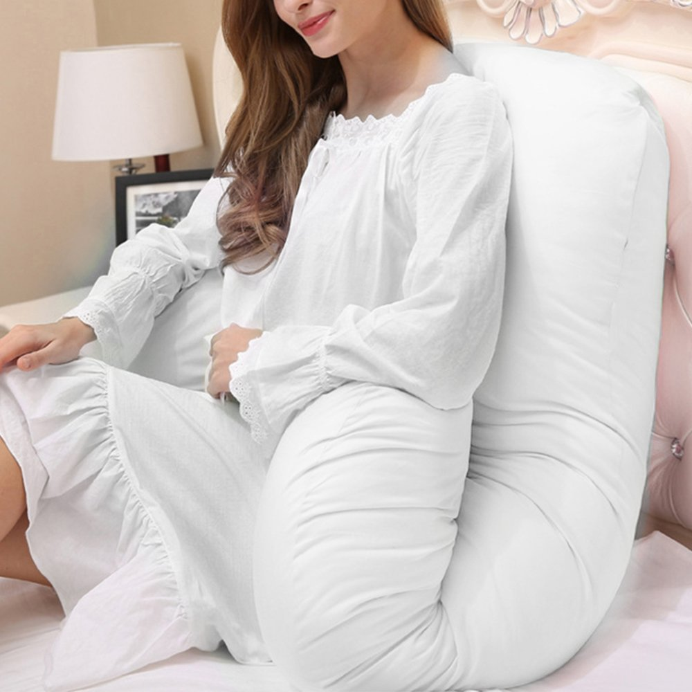 purple 9ft U Pillow Case Maternity Full Body Support Pregnancy Pillow Cover Ultimate Support U Shaped Pillow For Sleeping No Pillow Filler