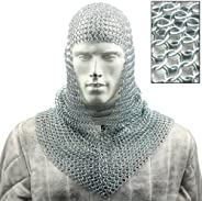 Battle Ready Chain Mail Coif Armor by Armory Replicas