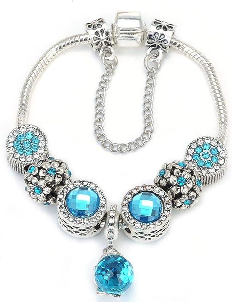 SONGBB Bracelet Bracelet DIY Crystal Charm Bracelets /& Bangles for Women Jewellery