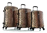 Heys America Leopard Panthera Fashion Spinner 3 Piece Set