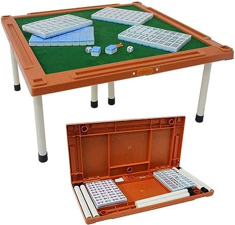 Juego De Juego Mahjong Chino De Tamaño Mini De Viaje Al Aire Libre, 144 Azulejos con