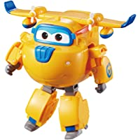 "Super Wings - Transforming Donnie Toy Figure, Plane, Bot, 5"" Scale"