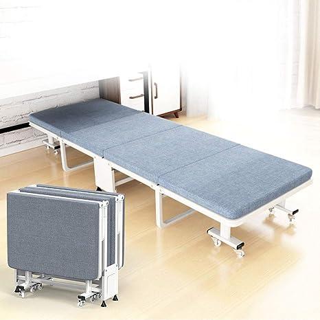 YLIK Estructura de Cama Plegable de Invitados con colchón ...