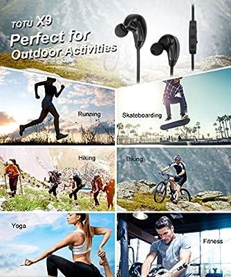 Amazon.com: TOTU Bluetooth Headphones X9 V4.1 Wireless ...
