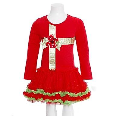 red christmas present dress 6 - Red Christmas Dresses