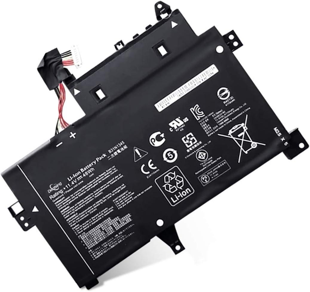 Dentsing B31N1345 (11.4V 48Wh/4100mAh 6-Cells) Laptop Battery Compatible with ASUS Transformer Book Flip TP500L TP500LA TP500LB TP500LN Series Notebook B31BN9H 0B200-00990100