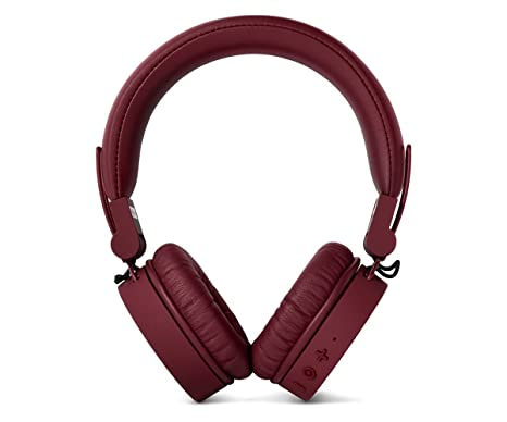 Fresh n Rebel Caps Wireless Ruby - Auriculares On-ear Bluetooth Inalámbricos - Rojo