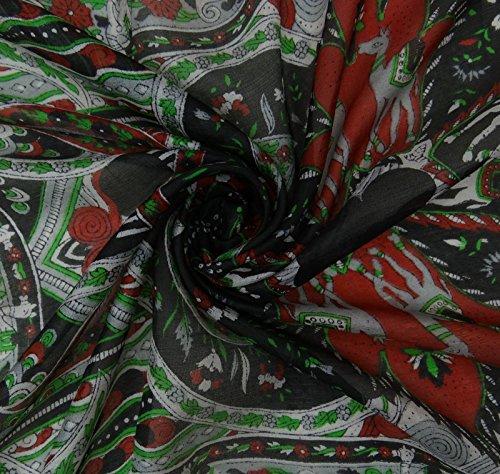 Pouces Foulards Pur Foulard En Wrap Femmes 70 Doux Imprimé Multicouleure 20 X Soie Aboutyou dWB78wqxYY