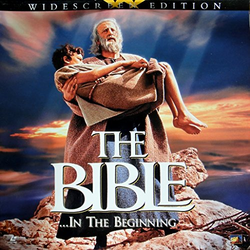 The Bible ... In the Beginning Laserdisc