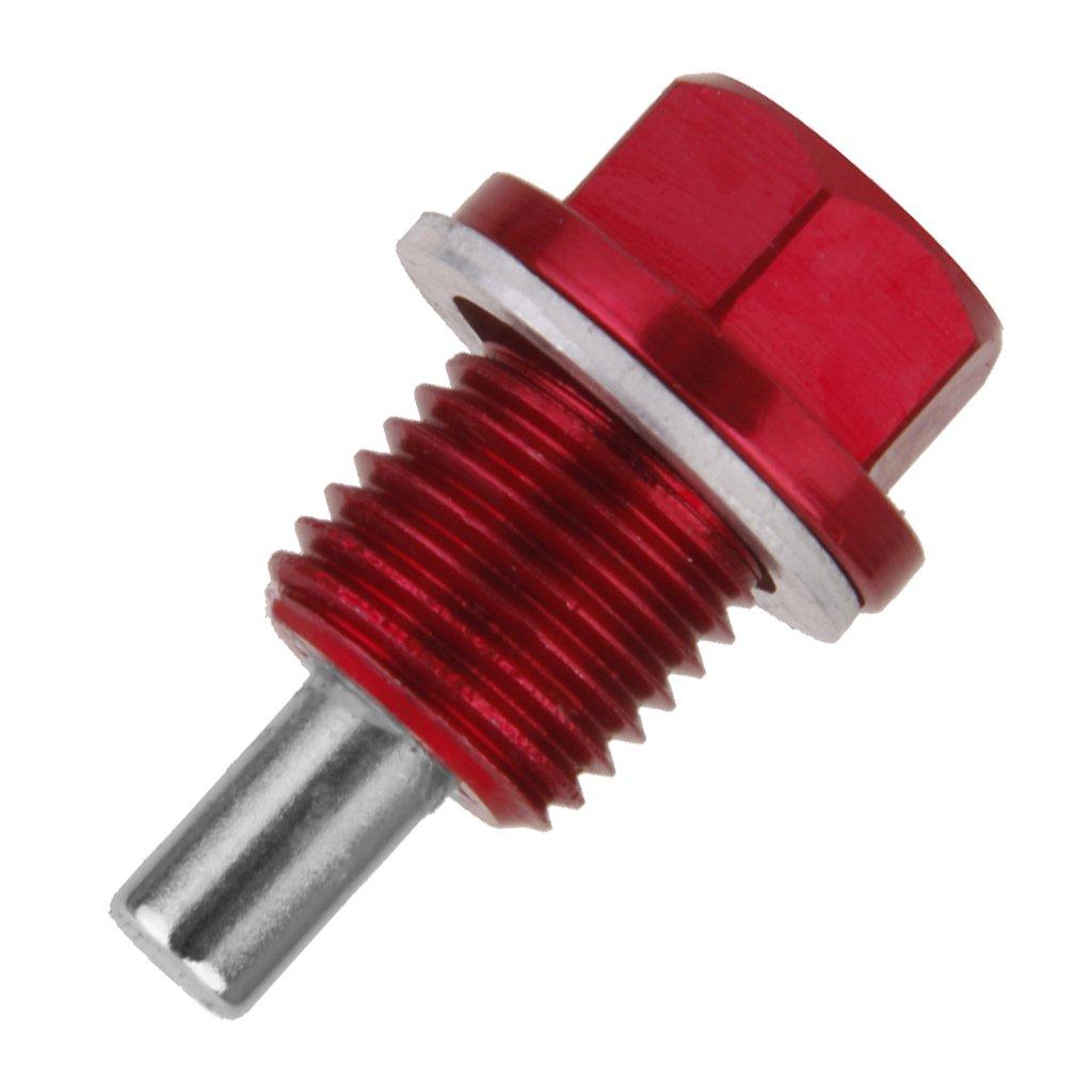 perfk 1 paar M14 X1.5 mm Magnetische /Ölablassschraube eloxiert /Ölwanne Drain Plug