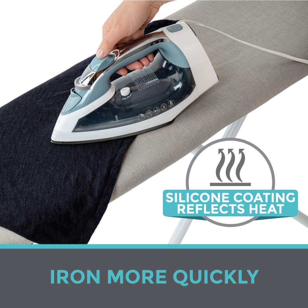 HOME GENIE Reflective Silicone Ironing Board Cover
