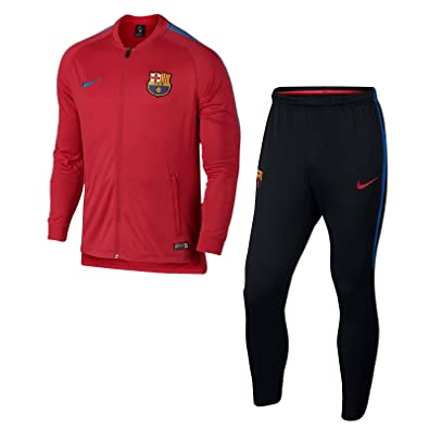 good service quality products super cute Nike - Football - survêtement fcb 2017/18 adulte - Taille L ...