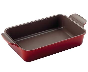 Bandeja para horno con revestimiento de cerámica Neoflam Ecolon bandeja de horno 35,5 cm cocinar asar: Amazon.es: Hogar