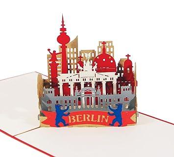 3d Karteberlin Skyline I Pop Up Karte Als Reisegutschein