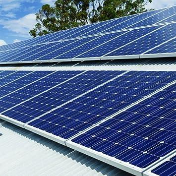 Plug-in Solar 750 W energía Solar DIY para techo con (para acero o aluminio hoja techos/tornillo central en el garaje o en techos): Amazon.es: Bricolaje y ...